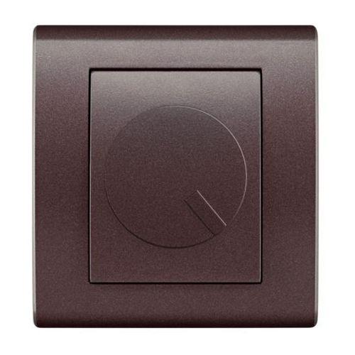 Elektro Plast Catrin - Ściemniacz obrotowy 400W czekoladowy - 2117-14
