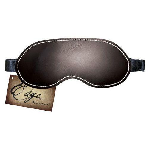 Opaska maseczka skórzana na oczy -  edge leather blindfold marki Sportsheets