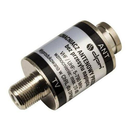 Wzmacniacz antenowy DPM Solid przelotowy 20 dB