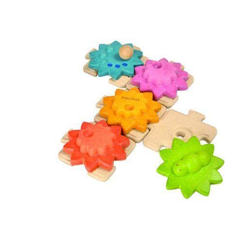 Plan Toys przekładnie puzzle - standardowe (8854740056344)