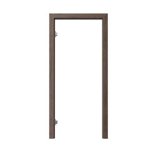 Porta Ościeżnica regulowana do skrzydeł bezprzylgowych 90 lewa dąb brązowy 95 - 115 mm (5902850989779)
