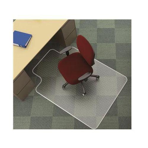 Mata pod krzesło Q-CONNECT, na dywany, 134x115cm, kształt T (5705831022560)