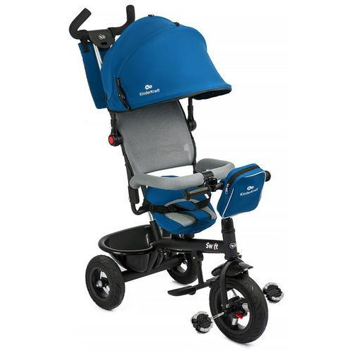 Rowerek trójkołowy KINDERKRAFT Swift Blue + DARMOWY TRANSPORT! + Zamów z DOSTAWĄ JUTRO! - sprawdź w wybranym sklepie