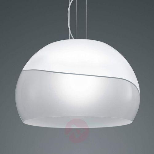 Szklana lampa wisząca ontario marki Trio leuchten