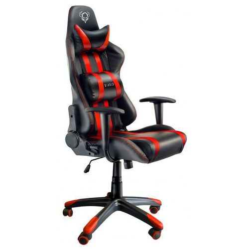 Fotel chairs x-one czarno-czerwony + zamów z dostawą jutro! marki Diablo