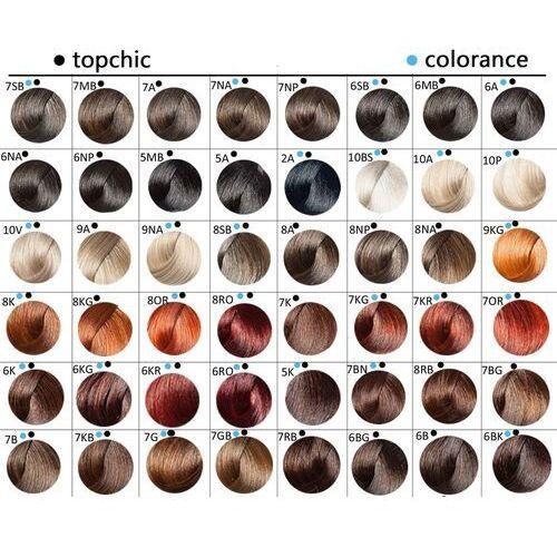 topchic, farba do włosów 60ml 2-a ciemna popielata czerń marki Goldwell