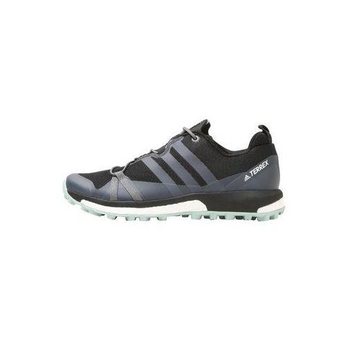 Adidas terrex Adidas performance terrex agravic w obuwie do biegania szlak core black/grey heather/ash green