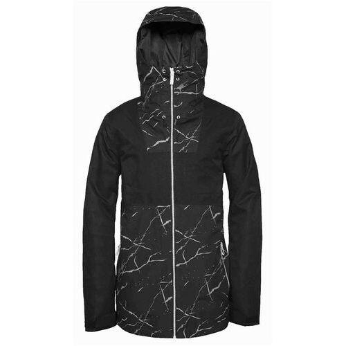 Kurtka - block jacket black marble (903) rozmiar: xl marki Clwr