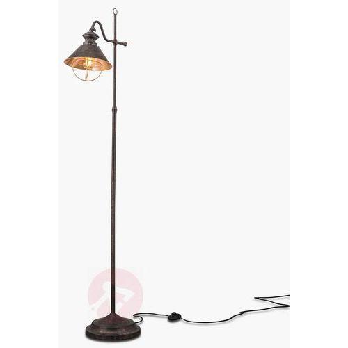 Lampa stojąca shanta w antycznym stylu marki Orion
