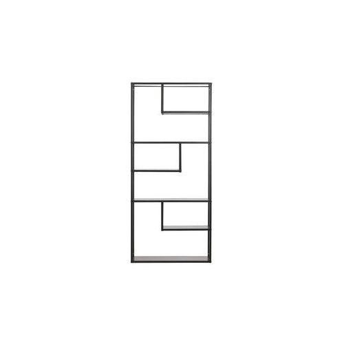 Woood Regał Teun metalowy czarny 375465-Z (8714713067282)