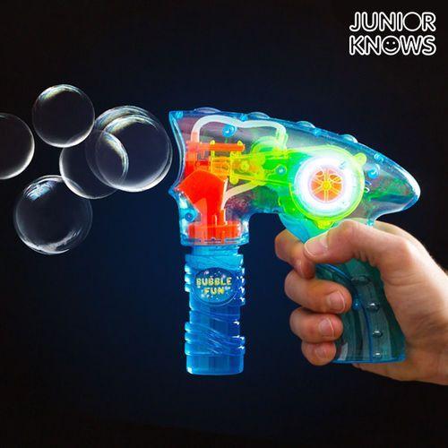 Pistolet na bańki mydlane ze światłem marki Junior knows