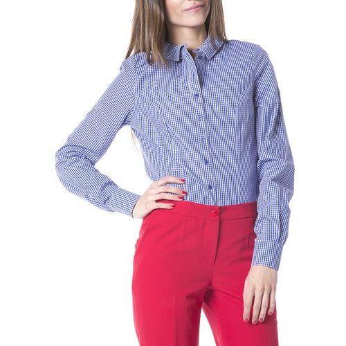 koszula niebieski biały l marki Nife