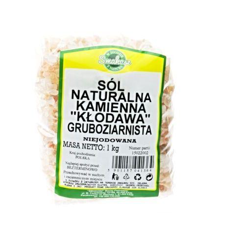Smakosz Sól naturalna kamienna różowa kłodawa gruboziarnista niejodowana 1kg. Najniższe ceny, najlepsze promocje w sklepach, opinie.