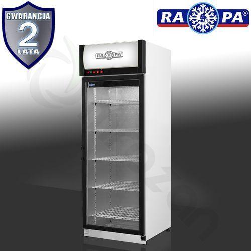 Szafa chłodnicza przeszklona RAPA SCh-S 625 AG
