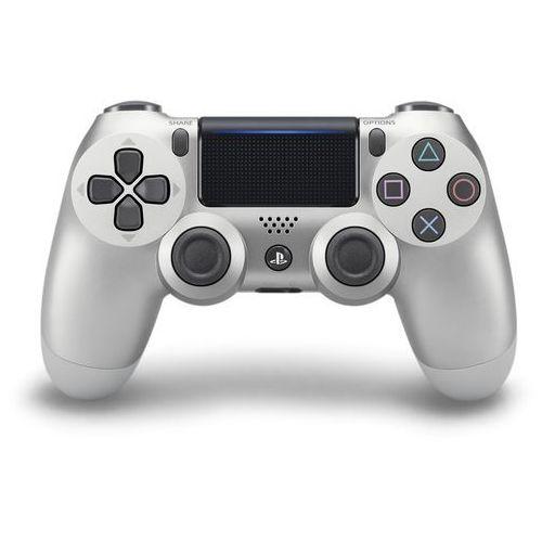 Sony DualShock 4 v2 srebrny (0711719895657)
