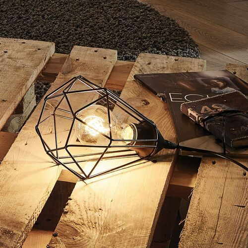Eglo Lampa stołowa 1x60w e27 tarbes 94192 (9002759941925)