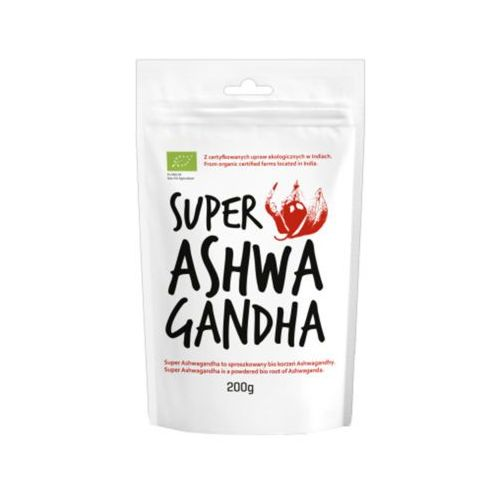 200g super ashwagandha bio marki Diet food - OKAZJE