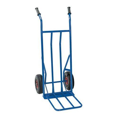 Aj produkty Niebieski wózek magazynowy o kołach pneumatycznych
