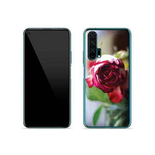 Huawei Honor 20 Pro - etui na telefon Foto Case - pączek róży, ETHW925FOTOFT043000
