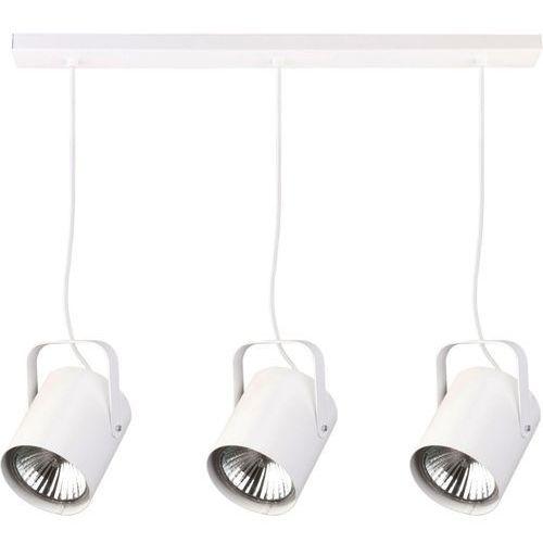Sigma Lampa wisząca flesz 3 x 60 w e27 biała (5902335267064)