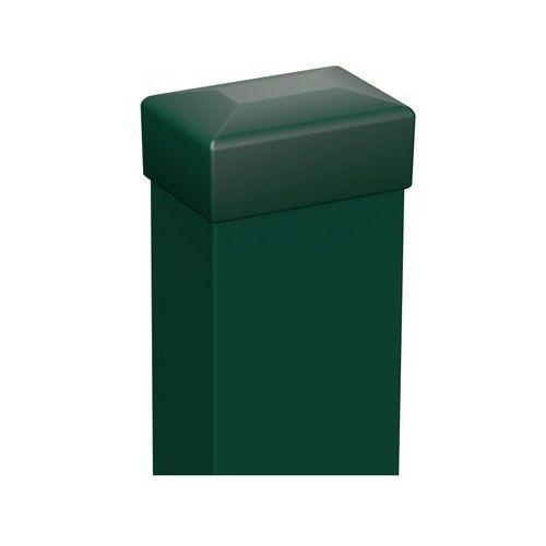 Słupek ogrodzeniowy 6 x 4 x 200 cm zielony POLARGOS (5903427748966)