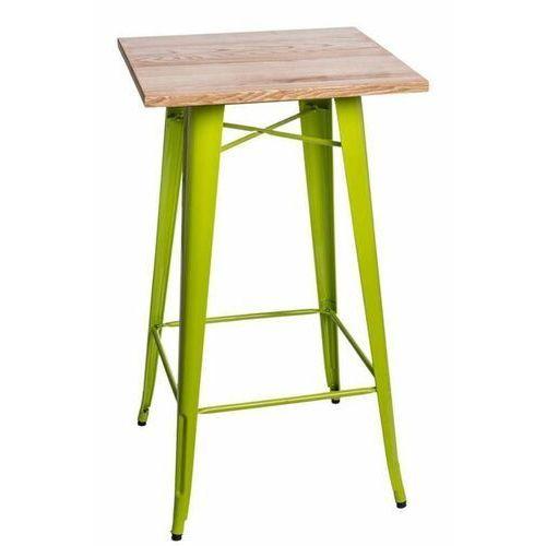 Stół barowy paris wood j. zielony jesion marki D2.design
