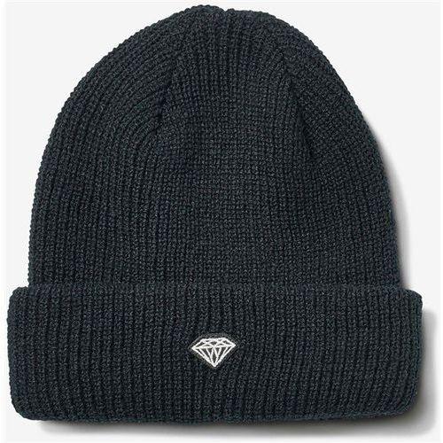 czapka zimowa DIAMOND - Brilliant Patch Beanie Black (BLK), kolor czarny