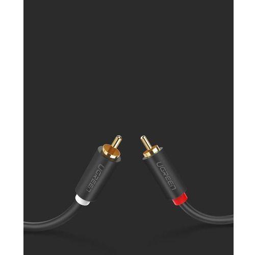 Ugreen kabel przewód stereo audio wideo 2 rca 2x cinch 5m szary (10520) - 5 (6957303815203)