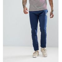 Ellesse joggers in skinny fit with open cuff - navy
