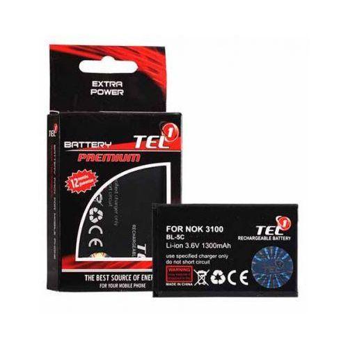 Bateria Tel1 Nokia BL-5C 3110 6230 1300 mAh ZAMIENNIK (5900217007210)
