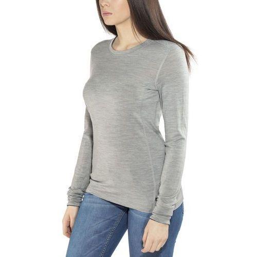 ODLO CREW NECK NATURAL Podkoszulki grey melange/black, kolor szary