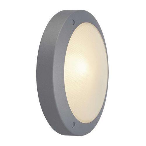 Bulan ścienna/sufitowa, okrągła, srebrnoszara, e14, max.60w, szkło mrożone, 229072 marki Spotline