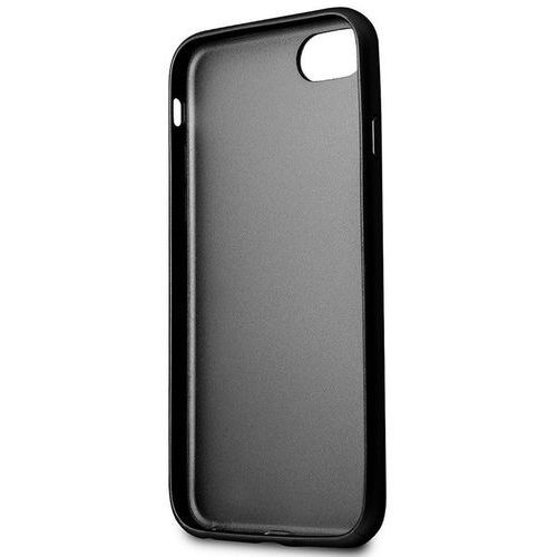 Guess Iridescent - Etui iPhone 8 / 7 (czarny), kolor czarny