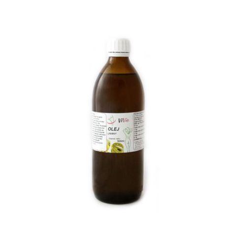 Olej lniany 500 ml marki Vivio - OKAZJE
