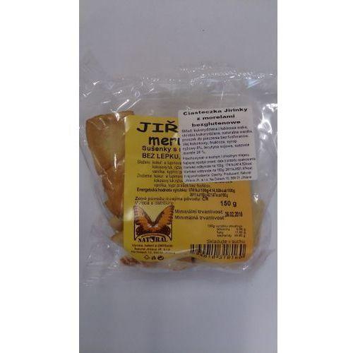 Ciasteczka JEŻYKI morelowe 150g NATURAL (8594010318160)