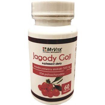 Jagody goji tabletki