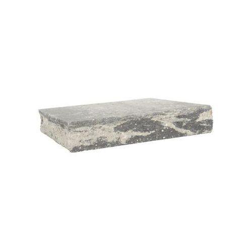 Przykrycie słupka 40 x 40 x 7 cm betonowe czterostronnie łupane skała lubuska marki Ziel-bruk