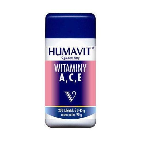 Tabletki HUMAVIT V Witaminy A,C,E x 200 tabletek