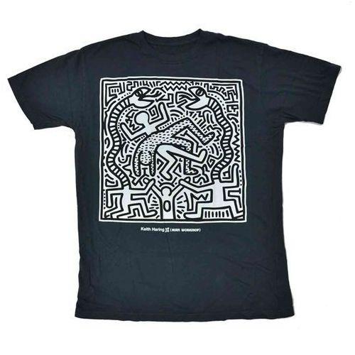 koszulka ALIEN WORKSHOP - Haring Snake Eater Black (CERNA) rozmiar: M, 1 rozmiar