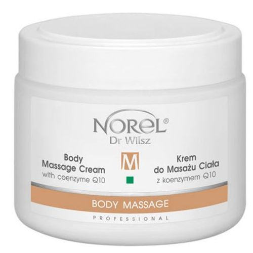 body massage cream with coenzyme q10 krem do masażu ciała z koenzymem q10 (pb070) marki Norel (dr wilsz)