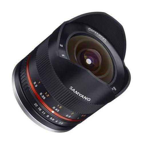 Samyang 8mm f/2.8 umc fisheye ii fujifilm x (czarny) (8809298882440)