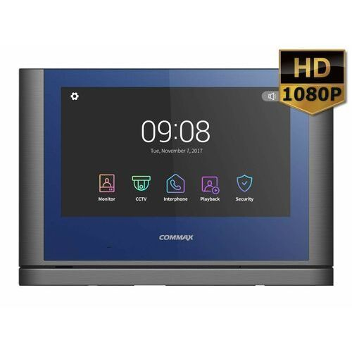 """Commax monitor 10"""" z serii """"fine view hd"""" z oświetleniem led cdv-1024ma dark silver - rabaty za ilości. szybka wysyłka. profesjonalna pomoc techniczna."""