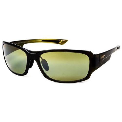 Okulary Słoneczne Maui Jim Bamboo Forest Polarized HT415-15F, kolor żółty