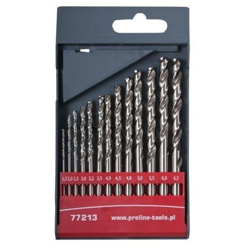 Proline Zestaw wierteł  77213 (do metalu 1,5-6,5mm 13szt.)- wysyłamy do 18:30 (5903755772138)