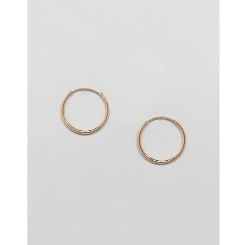 Weekday mid ring hoop earrings - gold