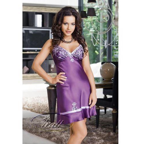Koszulka nocna model lilou ii violet marki Irall