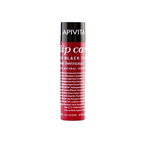 Apivita Lip Care Black Currant balsam do ust (Organic Beeswax & Olive Oil) 4,4 g