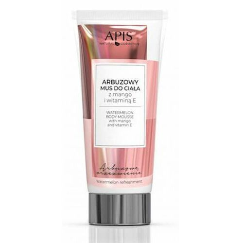 Apis WATERMELON BODY MOUSSE WITH MANGO AND VITAMIN E Arbuzowy mus do ciała (9072)