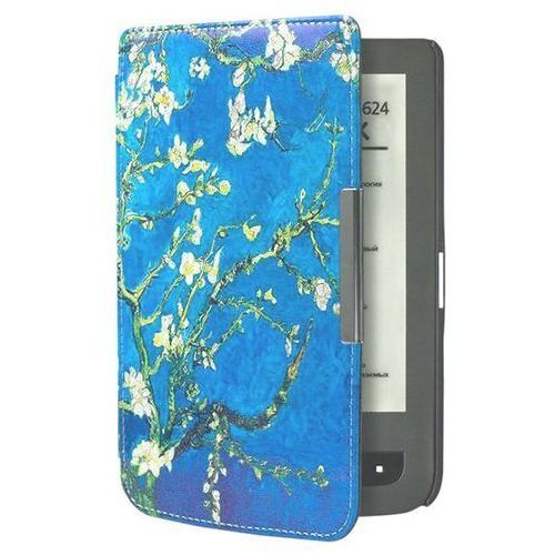 Etui design case pocketbook 624/614/626 touch lux 2 / 3 kwiaty marki Absorb.pl