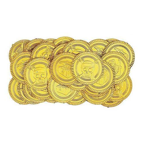 Złote monety pirackie - 30 szt marki Unique